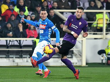 Serie A: Wasteful Napoli stumble at Fiorentina; Lautaro Martinez gets Inter Milan back to winning ways at Parma