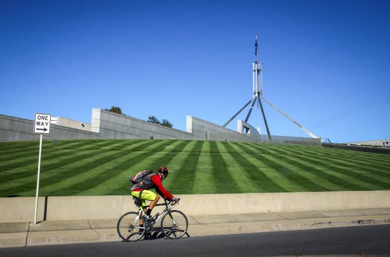 Canberra and its surrounding areas were labelled virus-free after two patients recovered Thursday (AFP Photo/DAVID GRAY)