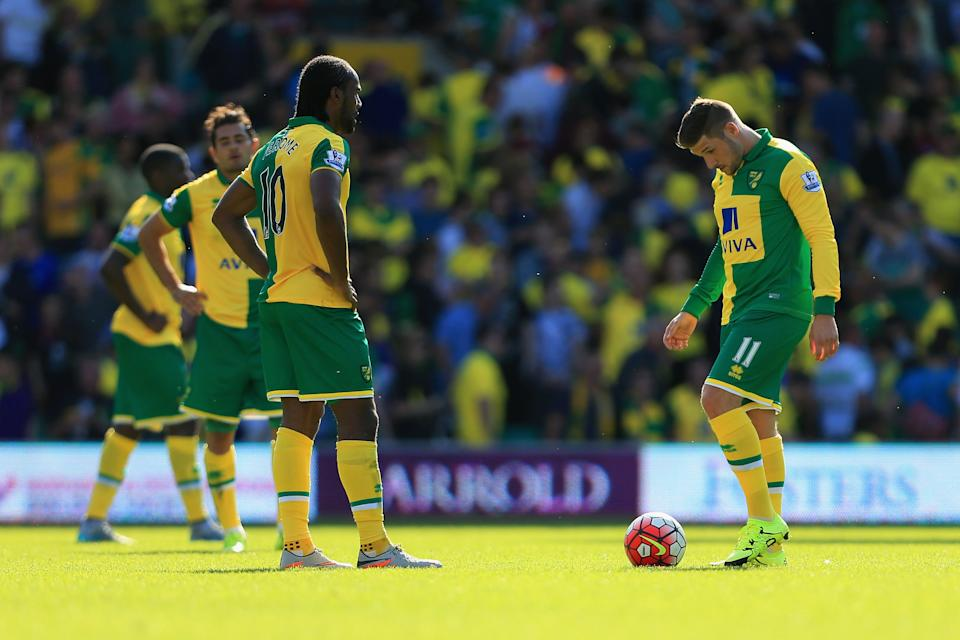 Cameron Jerome's spectacular overhead kick against Crystal Palace was ruled out for a high foot. Should it have been? (8 August 2015)