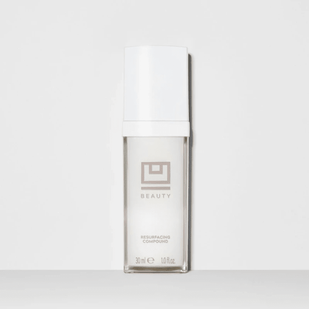 """<p>U Beauty Resurfacing Compound 30 ml, $118.40 (from $148 with the code FASHIONISTA20), <a href=""""https://click.linksynergy.com/fs-bin/click?id=KxCWl2JwuEY&offerid=800219.61&type=3&subid=0#donotlink"""" rel=""""nofollow noopener"""" target=""""_blank"""" data-ylk=""""slk:available here"""" class=""""link rapid-noclick-resp"""">available here</a>.</p>"""