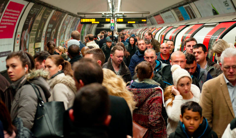 Pollution on the London tube network is said to be around 15 times greater than it is above ground (SWNS)