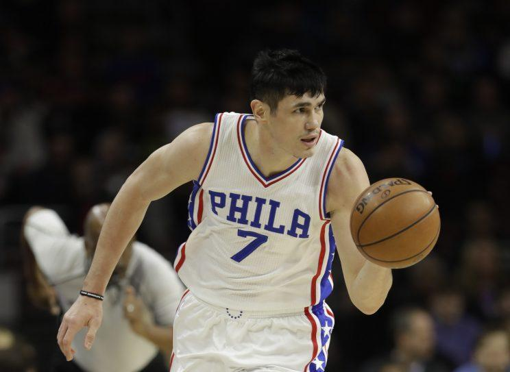 Ersan Ilyasova played 53 games for the 76ers. (AP)