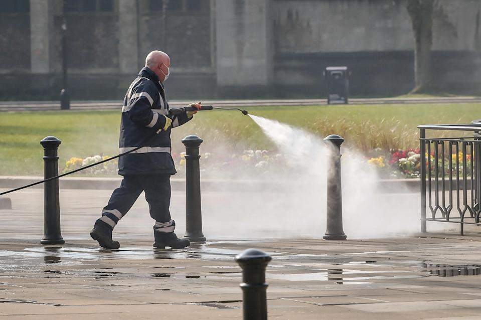 The coronavirus pandemic has highlighted the 'vital role' played by public sector workers, Unison said (Ben Birchall/PA)