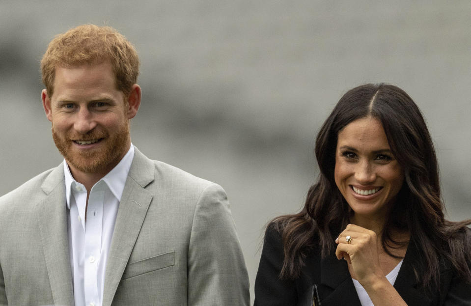 Prince Harry The Duke of Sussex and Duchess Meghan of Sussex have signed a multiyear production deal with Netflix. Image: AP