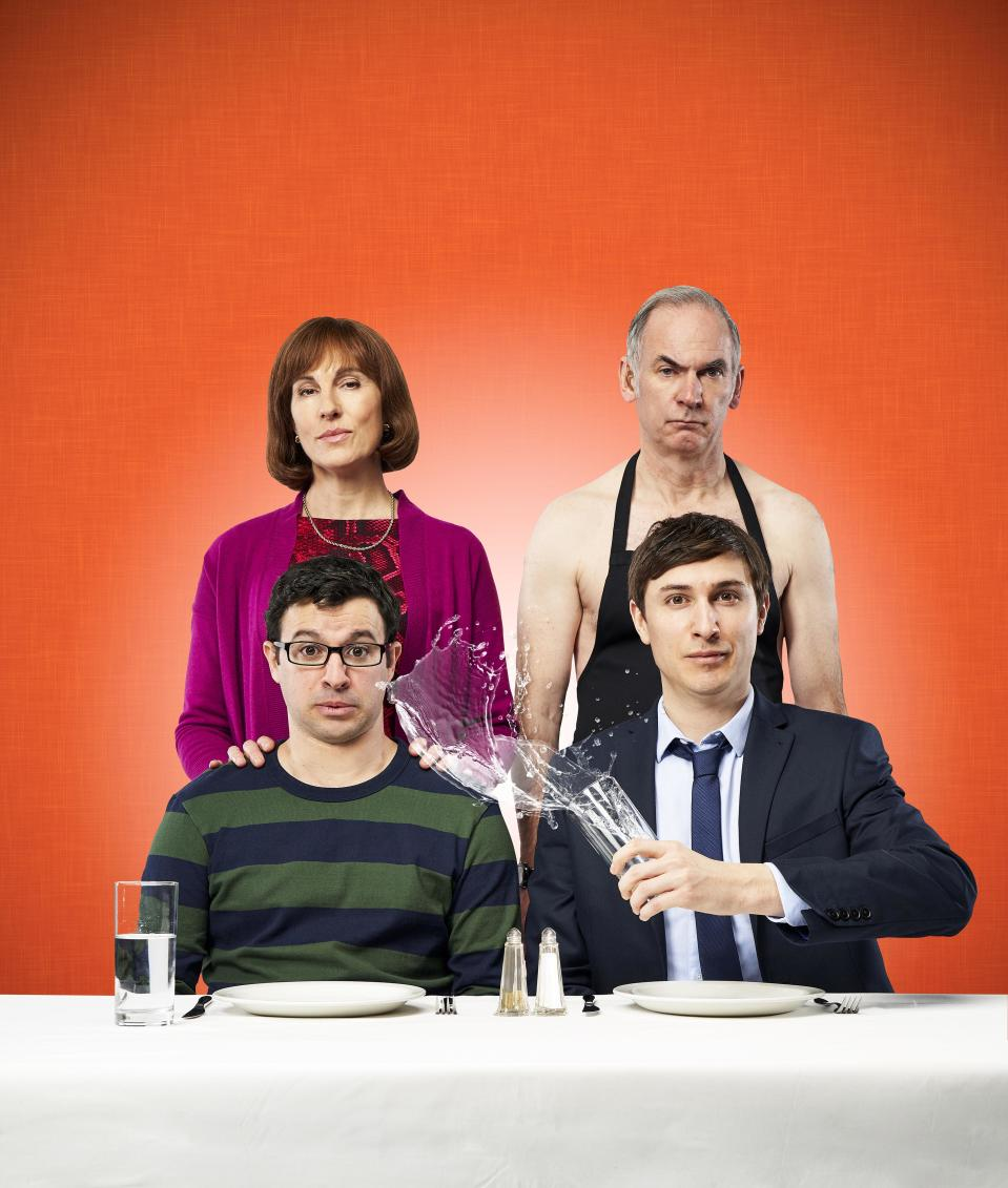 <p> <strong>UK: </strong>Netflix, All4, to buy on Amazon Prime Video </p> <p> <strong>US:</strong> Hulu </p> <p> Every Friday night the Goodman's have a family dinner that starts off business as usual but often ends in chaos, every single week. It's light entertainment, with jokes that often circle back around (the brothers' pranks that go too far, or dad's propensity to take his shirt off) but it's always entertaining, with plenty of slapstick and banter between the characters. </p>