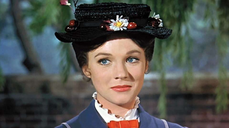 Julie Andrews played the title role in 1964 musical 'Mary Poppins'. (Credit: Disney)