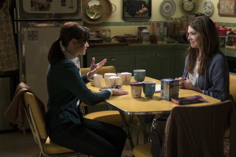 """We might have just accidentally figured out the release date for """"Gilmore Girls"""""""