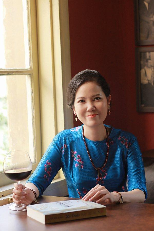 Artist Nguyen Thi Kim Duc - A Vietnamese businesswoman who wants to see a green future and succeeded in captivating world leaders' attention on this issue at the 2019 UN Vesak festival