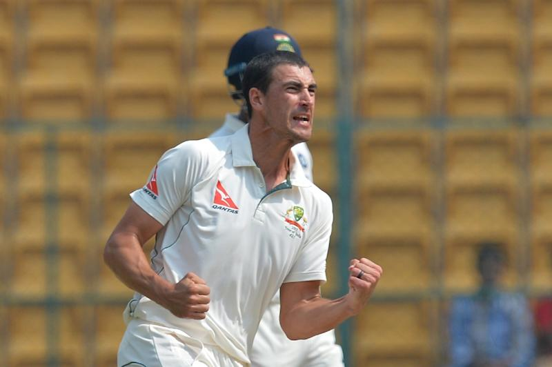 A stress fracture to his right foot rules Mitchell Starc out of the Australia side touring India