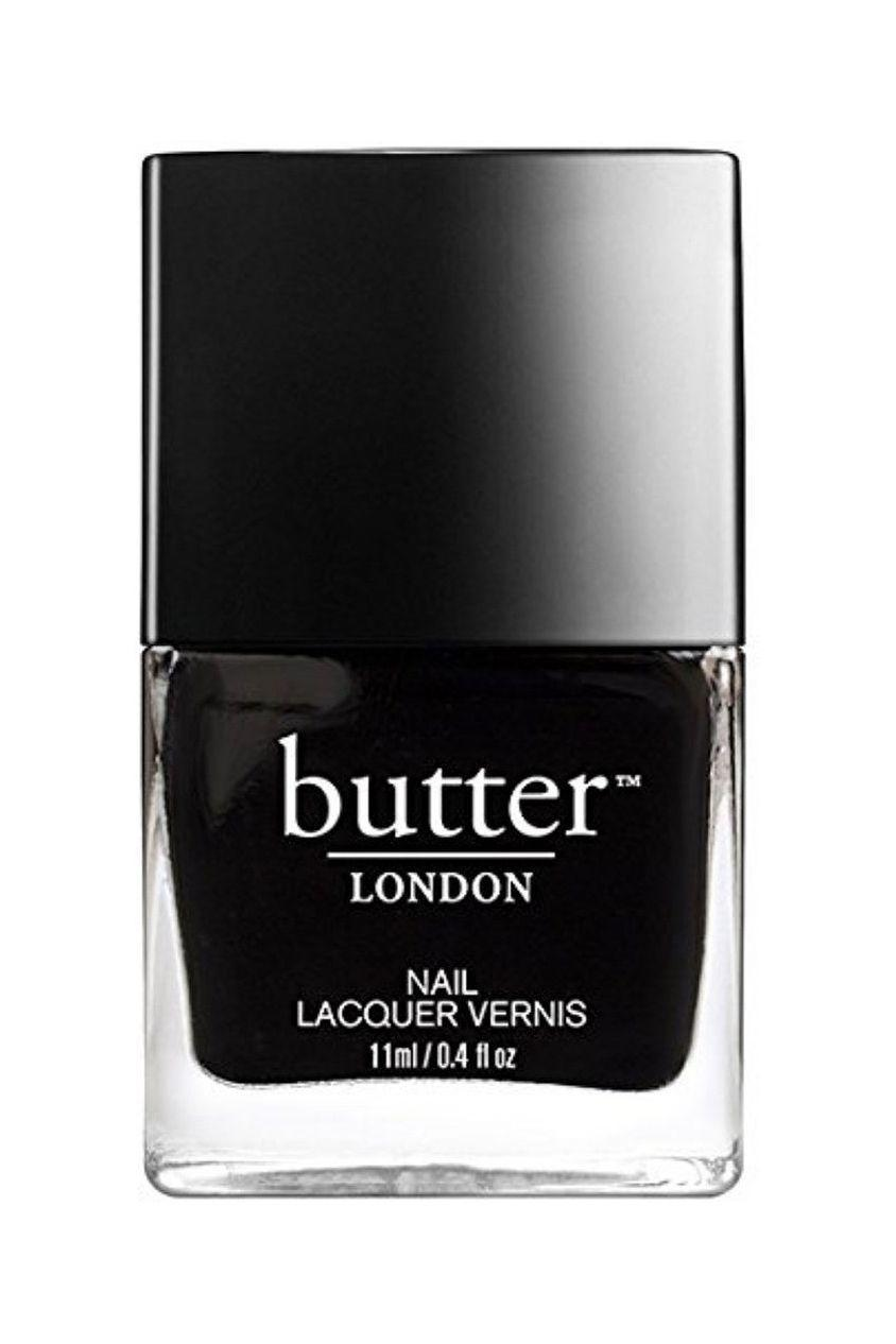 """<p><strong>butter LONDON</strong></p><p>amazon.com</p><p><strong>$15.00</strong></p><p><a href=""""https://www.amazon.com/dp/B001QRD602?tag=syn-yahoo-20&ascsubtag=%5Bartid%7C10058.g.3310%5Bsrc%7Cyahoo-us"""" rel=""""nofollow noopener"""" target=""""_blank"""" data-ylk=""""slk:SHOP IT"""" class=""""link rapid-noclick-resp"""">SHOP IT</a></p><p>We just can't resist an inky, dark-as-night black. </p>"""