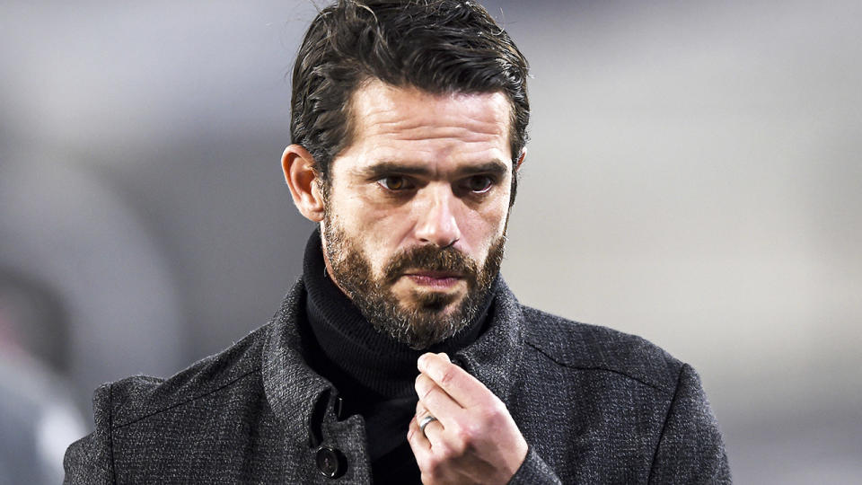Fernando Gago, pictured here during a match between River Plate and Aldosivi.