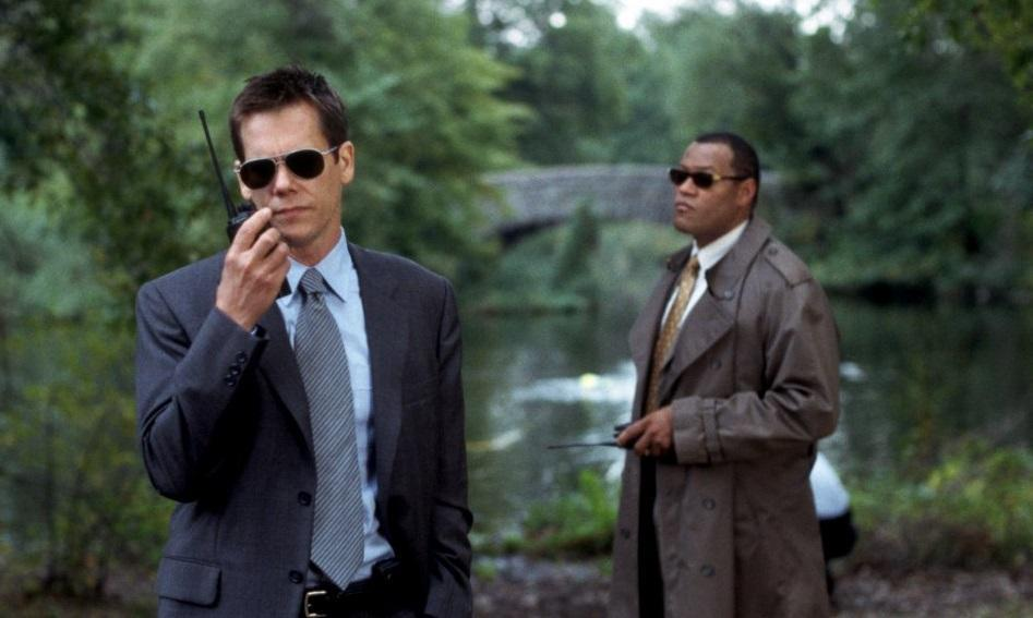 <p>Once again proving that no big-name ensemble is complete without Kevin Bacon, the actor joined Sean Penn, Tim Robbins, Laurence Fishburne, Laura Linney and Marcia Gay Harden in Clint Eastwood's acclaimed adaptation of Dennis Lehane's novel, which won Oscars for both Penn and Robbins. (Picture credit: Warner Bros) </p>
