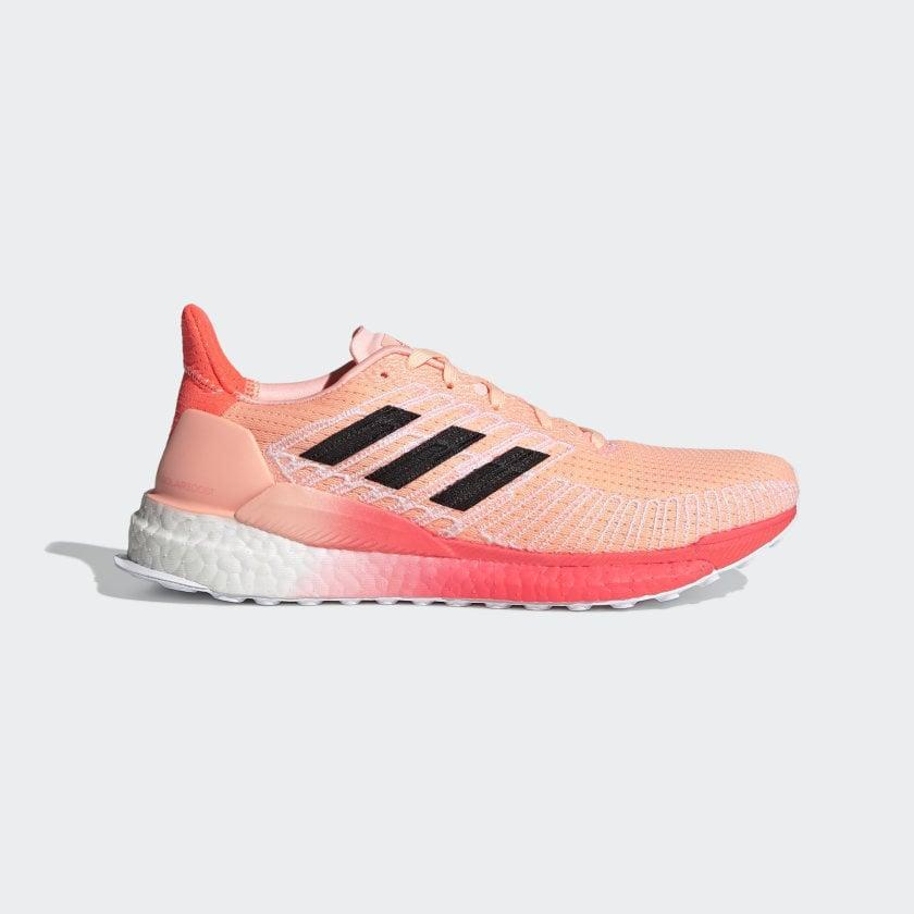 <p>In addition to the eye-catching color and details of these <span>Adidas Solar Boost 19 Shoes</span> ($128, originally $160), testers loved the lightweight structure and the reliable fit.</p>
