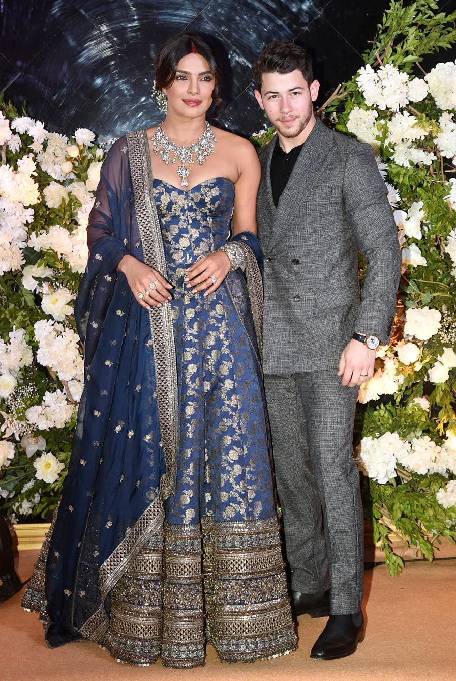 <p>Priyanka Chopra and Nick Jonas' wedding reception </p>
