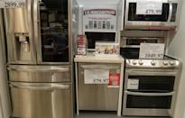 <p>At Costco, most regular-priced items end with .99. According to some Costco hack sites and videos, the price tags tell more than what you can see. If you see one ending in .97, the item has been marked down after possibly not selling well or because it was a seasonal item.</p>