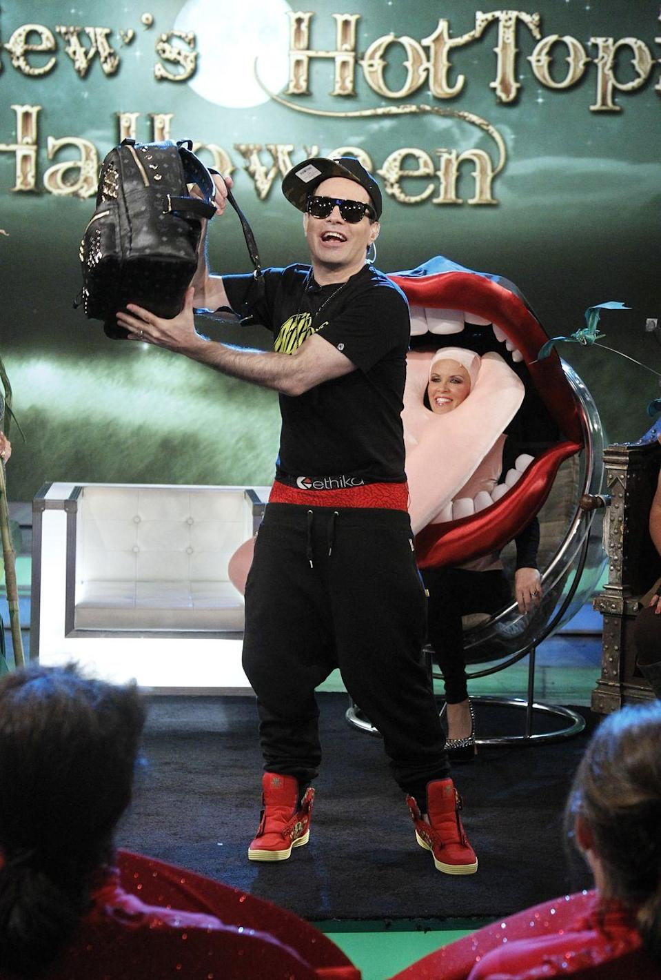 <p>Mario Cantone will make beliebers out of you as teen idol Justin Bieber.</p>