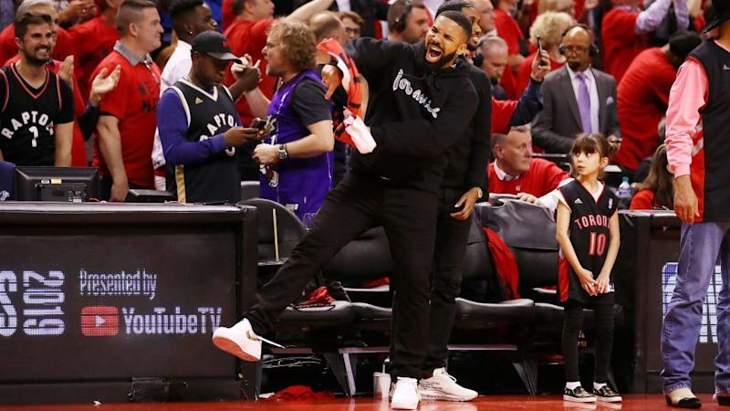 National Basketball Association spoke with Raptors about Drake during ECF