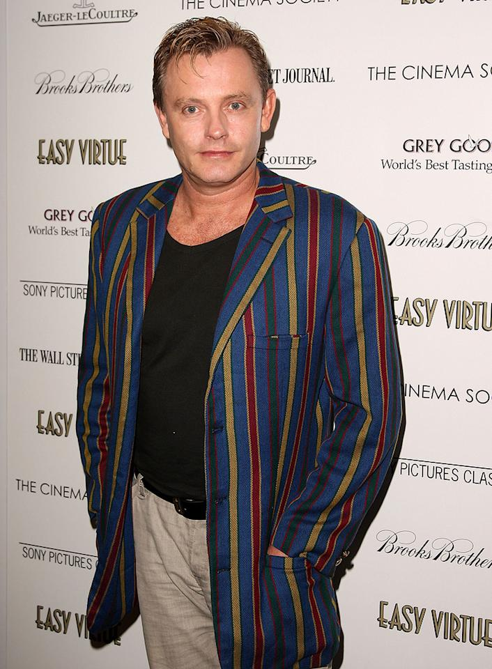 "<a href=""http://movies.yahoo.com/movie/contributor/1800029352"">Stephen Elliott</a> at the New York Cinema Society screening of <a href=""http://movies.yahoo.com/movie/1809765397/info"">Easy Virtue</a> - 05/11/2009"