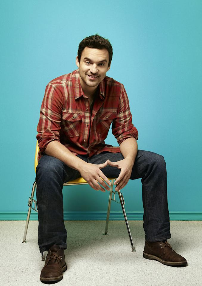 "Jake Johnson stars as Nick in in ""New Girl."""