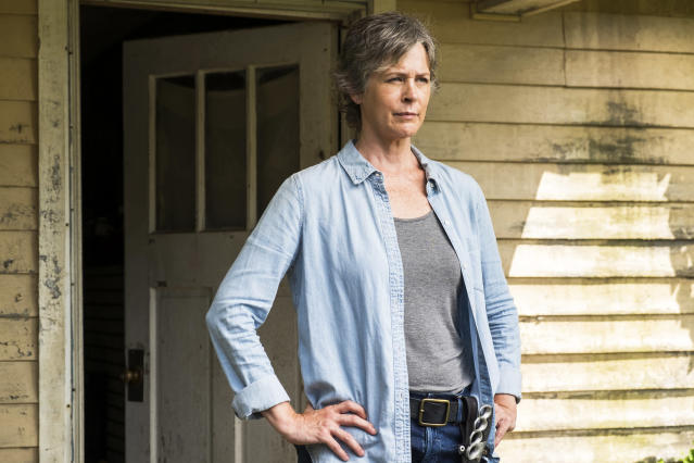 Melissa McBride as Carol Peletier in AMC's <i>The Walking Dead.</i> (Photo: Gene Page/AMC)