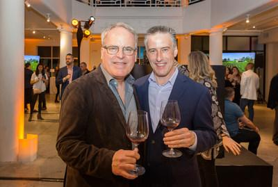 James Suckling and Michael Osborn at Great Wines of the World in Miami last week