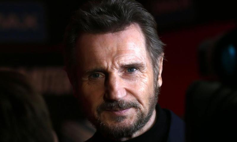 Liam Neeson: 'there's famous people, being suddenly accused of touching some girl's knee and suddenly they're being dropped'.