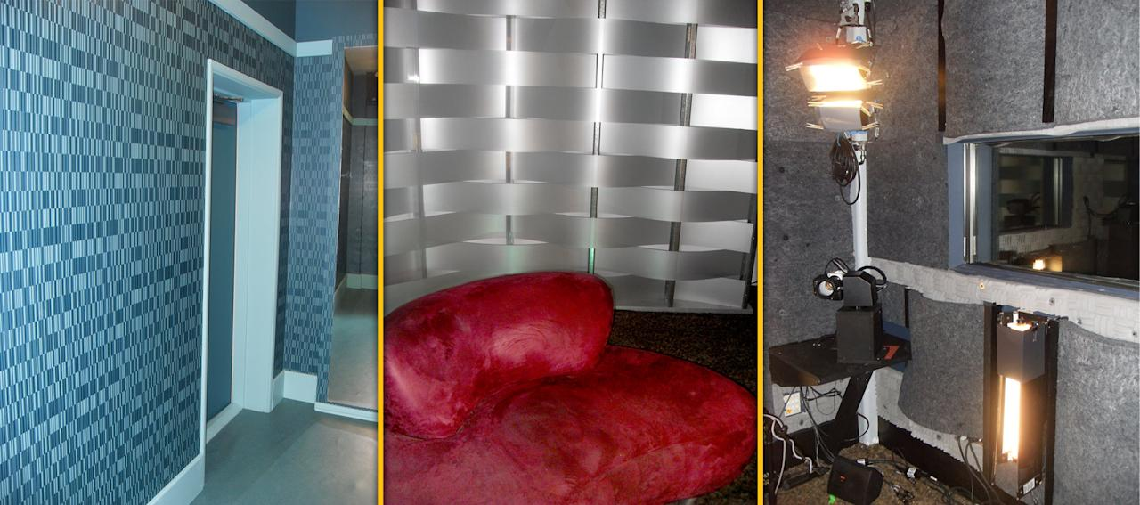 """As all """"<a href=""""/big-brother-12/show/45217"""">Big Brother</a>"""" fans know, a narrow hallway leads to the infamous Diary Room, which comes equipped with a velvety loveseat, soundproof walls, lights, and cameras."""