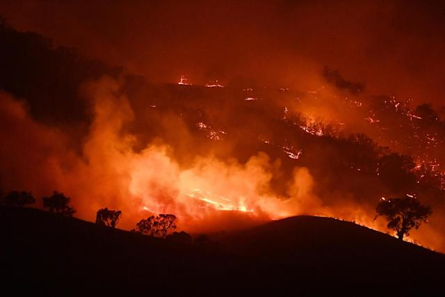 Wildfires have continued to devastate areas of Australia: Getty Images