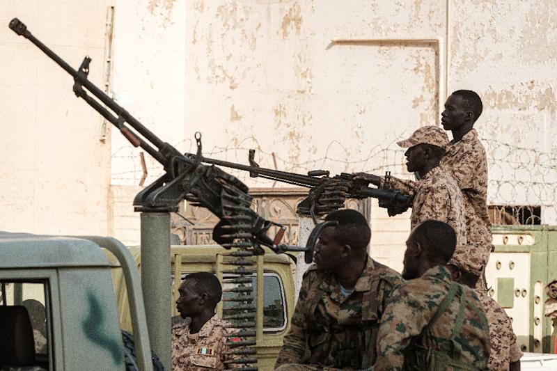 Sudan's Rapid Support Forces (RSF) have been accused of involvement in the killings (AFP Photo/Yasuyoshi CHIBA)