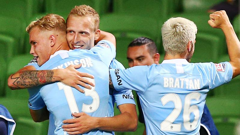 Melbourne City 1 Brisbane Roar 0: Emergency striker De Laet nets winner