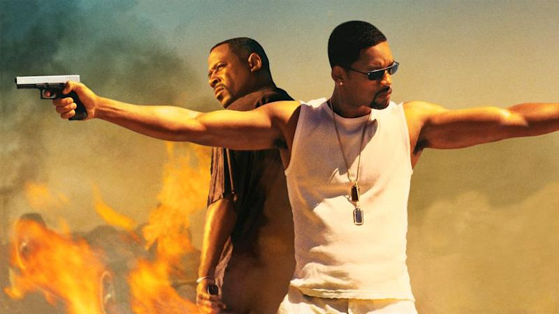Martin Lawrence and Will Smith in 2003's 'Bad Boys II,' directed by Michael Bay (credit: Sony)