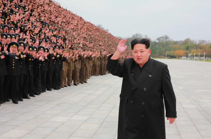 <em>Kim Jong-un is also said to have a group of teenage sex slaves (Rex)</em>