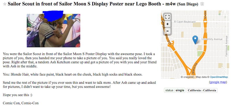 The hilarious and heartwarming Craigslist 'missed