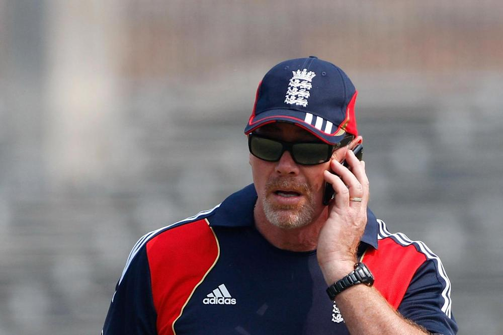 Reg Dickason, the ECB's director of security: Stu Forster/Getty Images