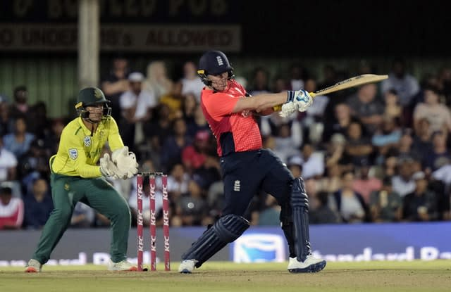 Jason Roy scored a brilliant 70 at the top of the England order (AP/Michael Sheehan)