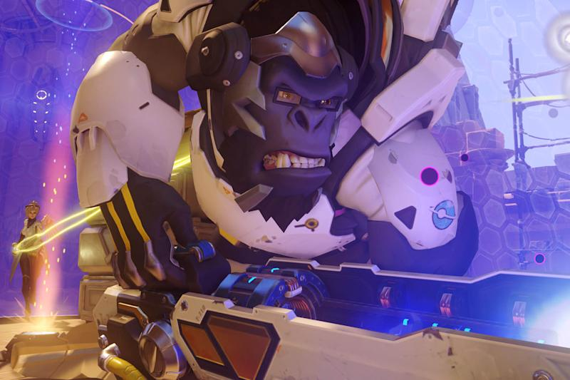'Overwatch' player dominates with Winston and some bananas