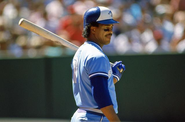 In 1987, George Bell became the first Toronto Blue Jays player to win AL MVP. Josh Donaldson joined him 28 years later. (Photo by Owen C. Shaw/Getty Images)