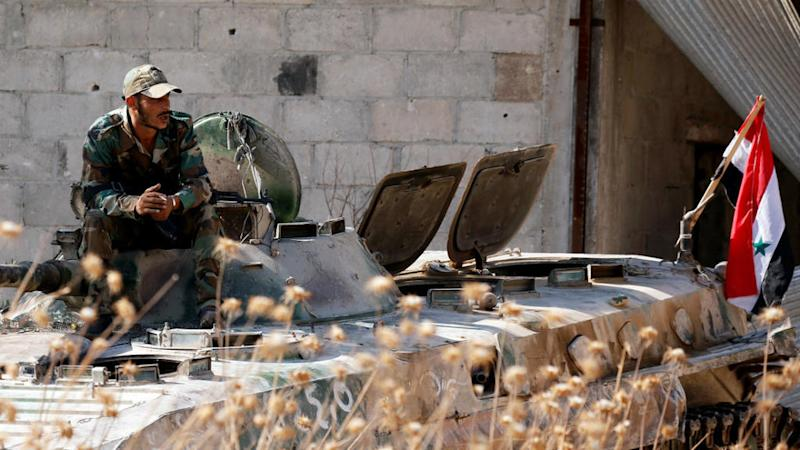 Violent clashes between Syrian forces and militant groups in Idlib despite ceasefire