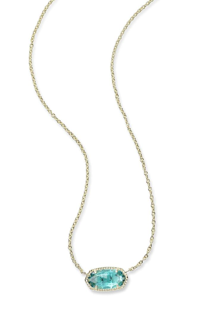 """<p><strong>Kendra Scott</strong></p><p>nordstrom.com</p><p><strong>$35.00</strong></p><p><a href=""""https://go.redirectingat.com?id=74968X1596630&url=https%3A%2F%2Fwww.nordstrom.com%2Fs%2Fkendra-scott-elisa-birthstone-pendant-necklace%2F4647644&sref=https%3A%2F%2Fwww.elle.com%2Ffashion%2Fshopping%2Fg23654253%2Fbest-gifts-under-50-ideas%2F"""" rel=""""nofollow noopener"""" target=""""_blank"""" data-ylk=""""slk:Shop Now"""" class=""""link rapid-noclick-resp"""">Shop Now</a></p><p>You don't <em>have</em> to feel bound by their birthstone, just choose a color they'd love. </p>"""
