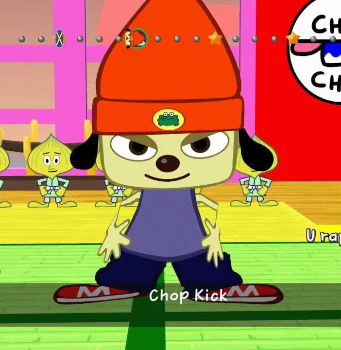 """<p>It's a tale as old as time: A beanie-capped, rapping pup tries to woo an anthropomorphic flower. PaRappa the Rapper was one of our earliest rhythm games, testing our metronome with songs like """"Donuts Head,"""" """"Down With Attitude,"""" and """"PaRappa's Greeting."""" I'm fully convinced that PaRappa would destroy mom's sphagetti-era Eminem in a rap battle. It's all over after the opening bars of """"Toilet Express."""" <em>—B.L.</em></p>"""