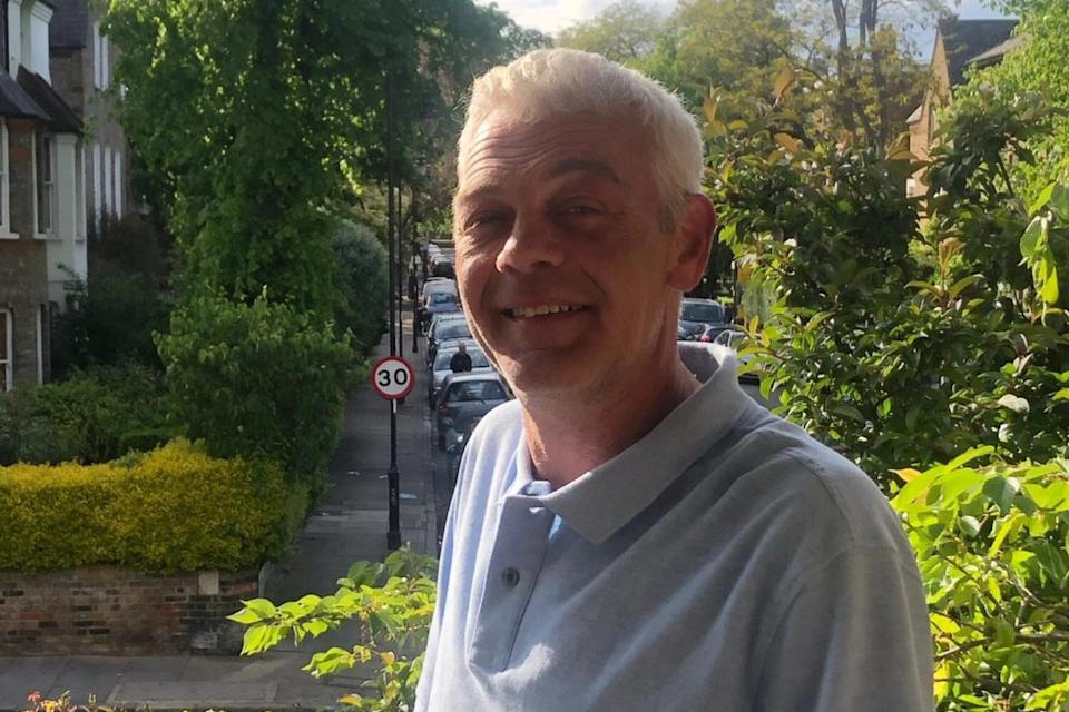 Tony Eastlake was knifed to death in north London just before 5.30pm on Saturday.