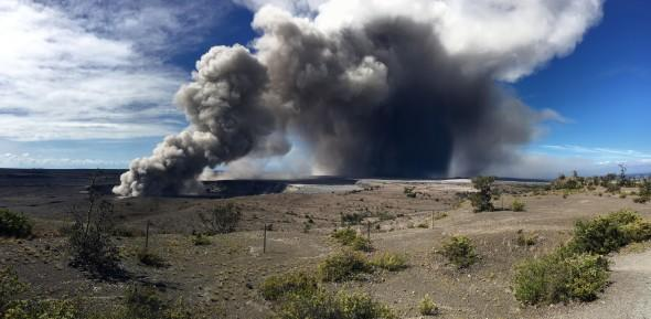 An explosive eruption has occurred at Kilauea's Summit early on Thursday morning, local time, following days of warnings from officials.