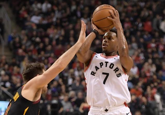 NBA: Cleveland Cavaliers at Toronto Raptors