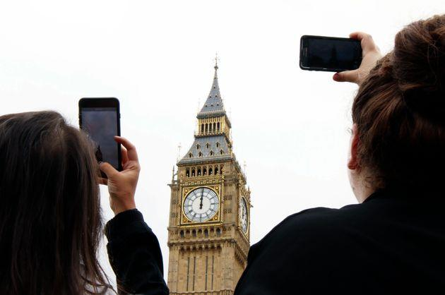 Elizabeth Tower, Westminster, commonly known as Big Ben.