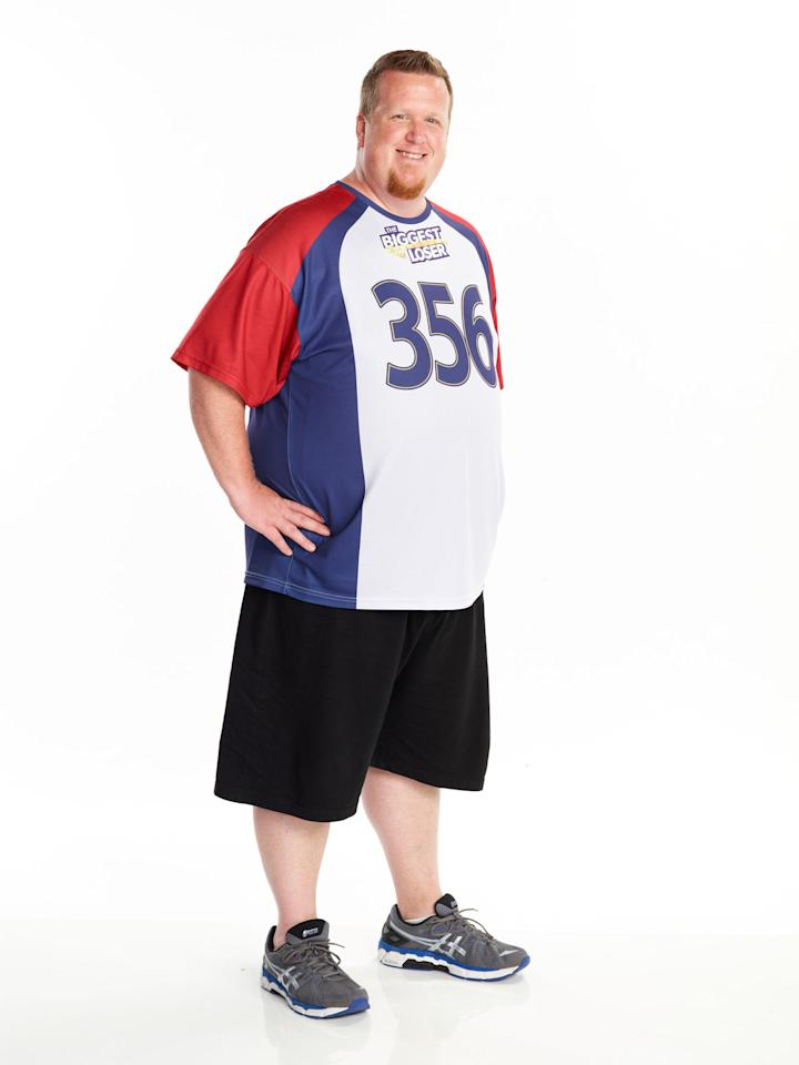 "Matt Hooper competes on NBC's ""The Biggest Loser"" Season 15."