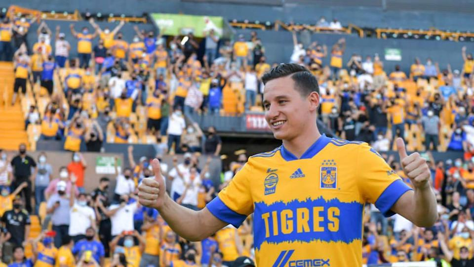 Tigres UANL Unveils New Signing Florian Thauvin | Azael Rodriguez/Getty Images