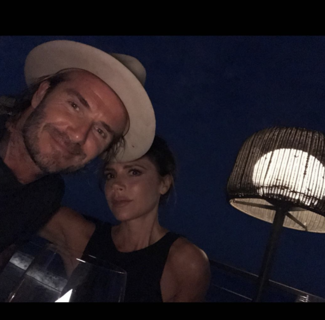 "<p>Becks also wished his love a happy Valentine's Day, adding, ""May today be filled with love and happiness around the world."" (Photo: <a href=""https://www.instagram.com/p/BfLJ1WeBwi0/?taken-by=davidbeckham"" rel=""nofollow noopener"" target=""_blank"" data-ylk=""slk:David Beckham via Instagram"" class=""link rapid-noclick-resp"">David Beckham via Instagram</a>) </p>"