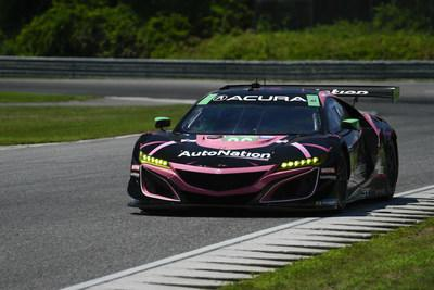 Trent Hindman and the Meyer Shank Racing team captured their third pole of the season this morning in qualifying at Lime Rock Park for this afternoon's Northeast Grand Prix IMSA WeatherTech SportsCar Championship race. Hindman and co-driver Mario Farnbacher lead the IMSA GTD championship in their Acura NSX GT3 Evo.