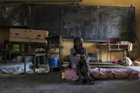 Many of the schools in Tigray's capital Mekele are now camps for the displaced