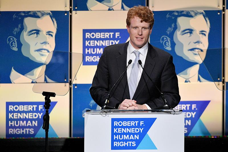 Rep. Joe Kennedy III (D-Mass.) is able to generate money and attention partly due to his pedigree. But Kennedy's boosters say he is a talented speaker and deal-maker as well. (Photo: Dia Dipasupil/Getty Images)